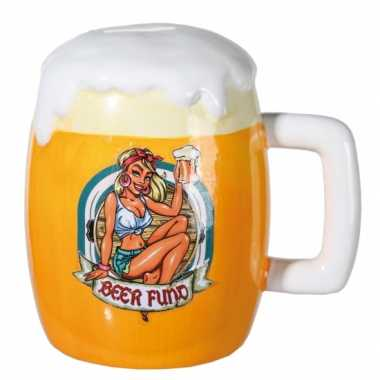 Grote bier spaarpot bier fonds