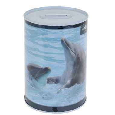 Grote dolfijn spaarpot