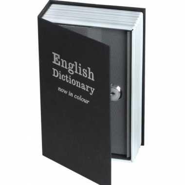 Grote  Geheim bewaarboek Engels woordenboek spaarpot