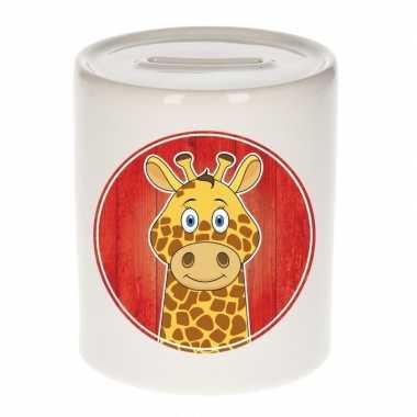 Grote giraffen spaarpot kinderen