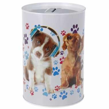 Grote honden koptelefoon spaarpot