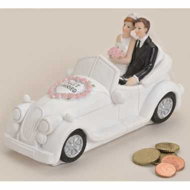 Grote  Just married trouwauto spaarpot