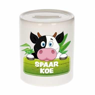 Grote kinder spaarpot koeien