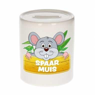 Grote kinder spaarpot muis