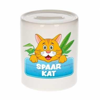 Grote kinder spaarpot rode katten