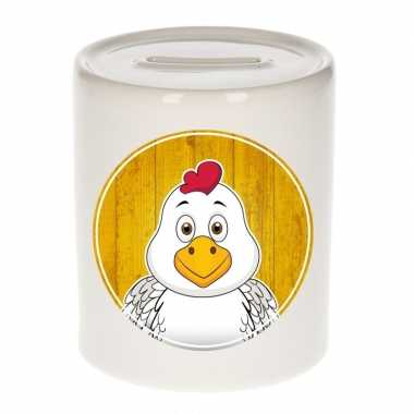 Grote kippen spaarpot kinderen