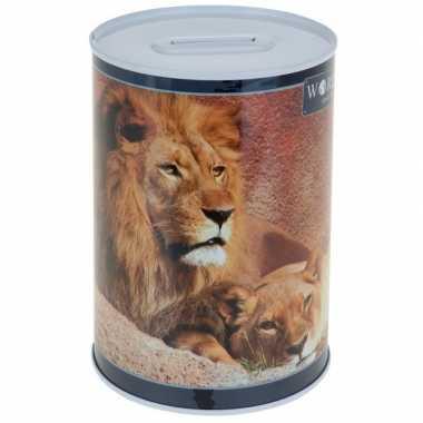 Grote leeuw spaarpot