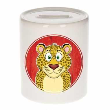 Grote luipaarden spaarpot kinderen