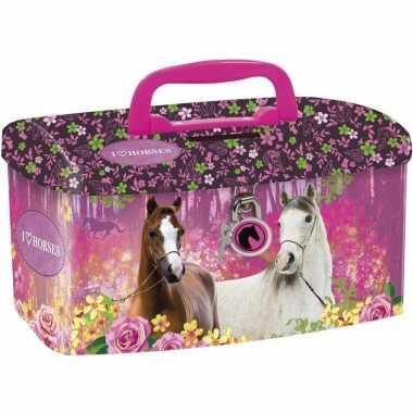 Grote paarden spaarpot / geldkistje
