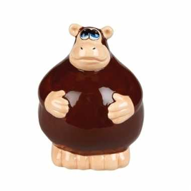 Grote spaarpot aap