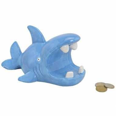 Grote spaarpot blauwe haai