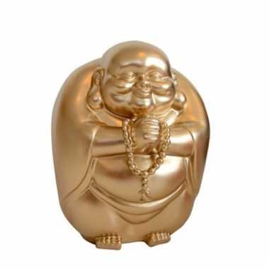 Grote spaarpot boeddha goud