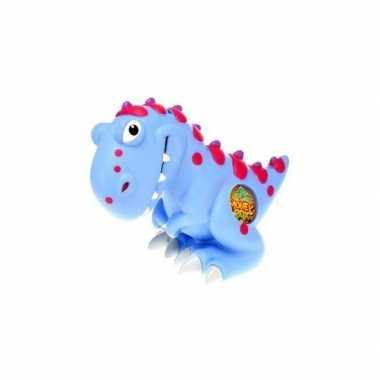 Grote spaarpot dinosaurus blauw