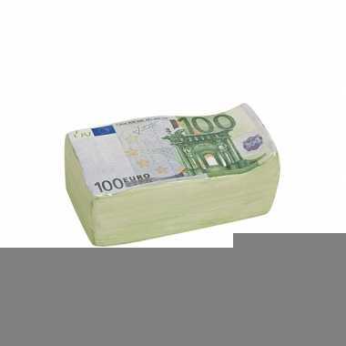 Grote  Spaarpot euro biljet