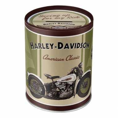 Grote  Spaarpot Harley Davidson American Classic