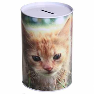 Grote  Spaarpot katten type