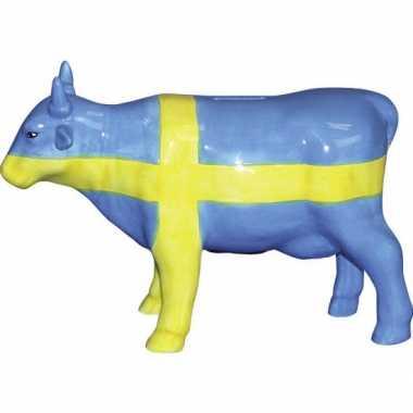 Grote  Spaarpot koe Zweden