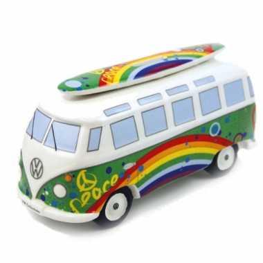 Grote spaarpot peace vw bus