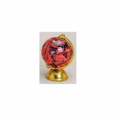 Grote  Spaarpot rode globe