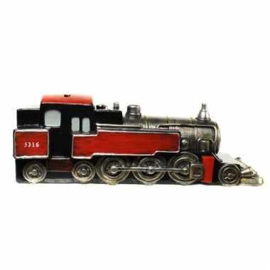 Grote  Spaarpot rode trein