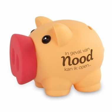 Grote spaarvarken geval nood spaarpot