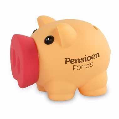 Grote spaarvarken pensioenfonds spaarpot