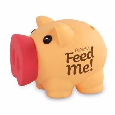 Grote spaarvarken please feed me spaarpot