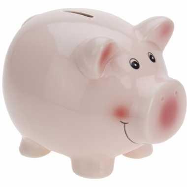 Grote spaarvarken roze spaarpot