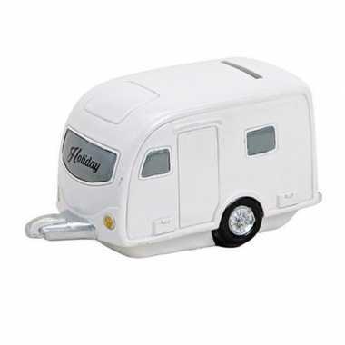 Grote vakantie spaarpot caravan