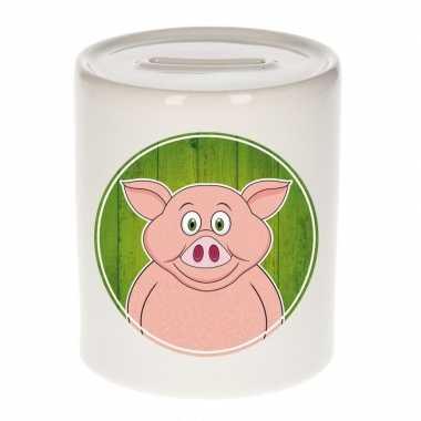 Grote varkens spaarpot kinderen