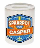 Grote kinder spaarpot casper