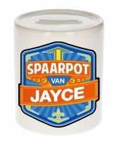 Grote kinder spaarpot jayce