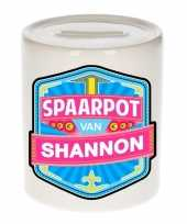 Grote kinder spaarpot shannon