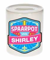 Grote kinder spaarpot shirley