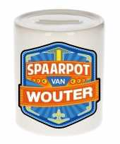 Grote kinder spaarpot wouter