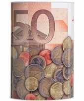 Grote spaarpot euro biljet 10135595