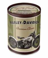 Grote spaarpot harley davidson american classic